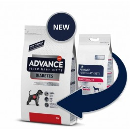 Advance Veterinary Diet Chien Diabetes Colitis 3 kg - La Compagnie Des Animaux