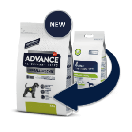Advance Veterinary Diet Chien Hypo Allergenic 2,5 kg - La Compagnie Des Animaux