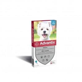 Advantix petit chien (4-10 kg) - 6 pipettes - La Compagnie Des Animaux
