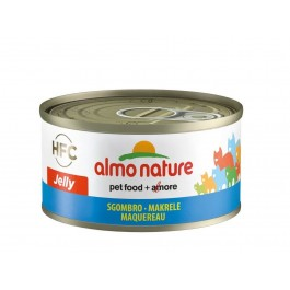 Almo Nature Chat Jelly HFC Maquereau 24 x 70 grs - La Compagnie Des Animaux