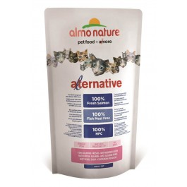 Almo Nature Alternative Chat Adulte Saumon 750 g - La Compagnie Des Animaux