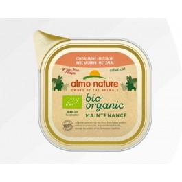 Almo Nature Bio Organic Maintenance avec Saumon pour chat 19 x 85 g