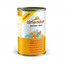 Almo Nature Chat Classic Cuisse de Poulet 24 x 140 grs - La Compagnie Des Animaux