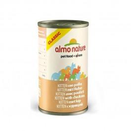 Almo Nature Chat Classic Kitten Poulet 24 x 140 grs - La Compagnie Des Animaux