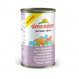 Almo Nature Chat Classic Poulet avec Alevins 24 x 140 grs - La Compagnie Des Animaux