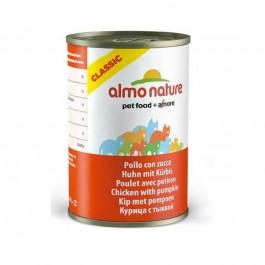 Almo Nature Chat Classic Poulet avec Potiron 24 x 140 grs - La Compagnie Des Animaux