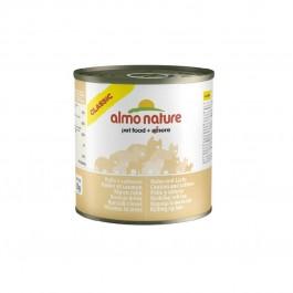 Almo Nature Chat Classic Poulet et Saumon 12 x 280 grs - La Compagnie Des Animaux