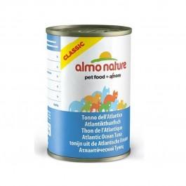Almo Nature Chat Classic Thon de l'Atlantique 24 x 140 grs - La Compagnie Des Animaux