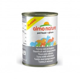 Almo Nature Chat Classic Thon et Alevins 24 x 140 grs - La Compagnie Des Animaux