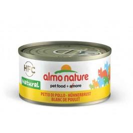 Almo Nature Chat Natural HFC Blanc de poulet 24 x 70 grs - La Compagnie Des Animaux