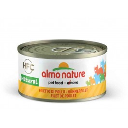 Almo Nature Chat Natural HFC Filet de Poulet 24 x 70 grs - La Compagnie Des Animaux