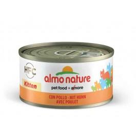 Almo Nature Chat HFC KITTEN avec Poulet 24 x 70 g - La Compagnie Des Animaux