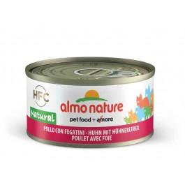 Almo Nature Chat Natural HFC Poulet avec foie 24 x 70 grs - La Compagnie Des Animaux
