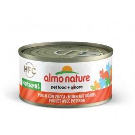 Almo Nature Chat Natural HFC Poulet avec Potiron 24 x 70 grs - La Compagnie Des Animaux