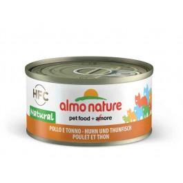 Almo Nature Chat Natural HFC Poulet avec Thon 24 x 70 grs - La Compagnie Des Animaux