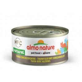 Almo Nature Chat Natural HFC Thon avec Alevins 24 x 70 grs - La Compagnie Des Animaux