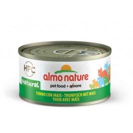 Almo Nature Chat Natural HFC Thon avec maïs 24 x 70 grs - La Compagnie Des Animaux
