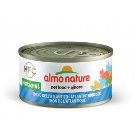 Almo Nature Chat Natural HFC Thon de l'Atlantique 24 x 70 grs - La Compagnie Des Animaux