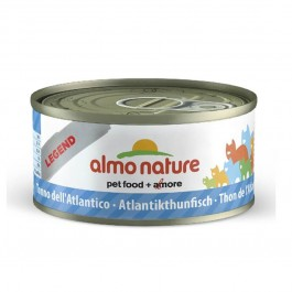 Almo Nature Chat Legend Thon de l'Atlantique 6 x 70 grs - La Compagnie Des Animaux