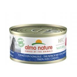 Almo Nature Chat Natural HFC Thon avec Coques 24 x 70 grs - La Compagnie Des Animaux