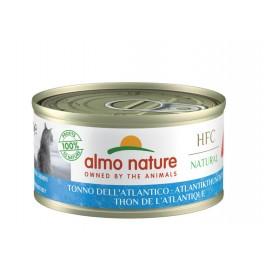 Almo Nature Chat Natural HFC Thon de l'Atlantique 24 x 70 grs - La Compagnie Des Animaux