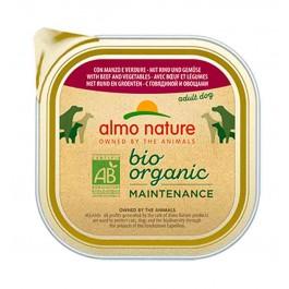 Almo Nature Chien Daily Menu Bio Boeuf et Legumes 32 x 100 grs - La Compagnie Des Animaux