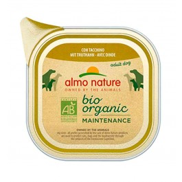 Almo Nature Chien Daily Menu Bio Dinde 32 x 100 grs - La Compagnie Des Animaux