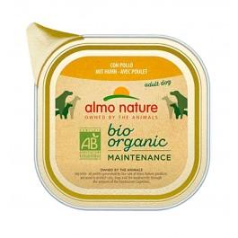 Almo Nature Chien Daily Menu Bio Poulet 32 x 100 grs - La Compagnie Des Animaux