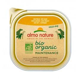 Almo Nature Chien Daily Menu Bio Poulet 9 x 300 grs - La Compagnie Des Animaux