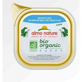 Almo Nature Chien Daily Menu Bio Puppy Poulet et Lait 32 x 100 grs - La Compagnie Des Animaux
