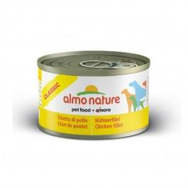 Almo Nature Chien Classic Filet de poulet 24 x 95 grs - La Compagnie Des Animaux
