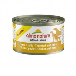 Almo Nature Chien Classic Thon et poulet 24 x 95 grs - La Compagnie Des Animaux