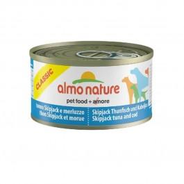 Almo Nature Chien Classic Thon Skipjack et Morue 24 x 95 grs - La Compagnie Des Animaux