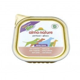 Almo Nature Chien Daily Menu Bio Saumon 9 x 300 grs - La Compagnie Des Animaux