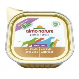 Almo Nature Chien Daily Menu Bio Veau 32 x 100 grs - La Compagnie Des Animaux