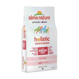 Almo Nature Chien Holistic Medium Boeuf et riz 12 kg - La Compagnie Des Animaux