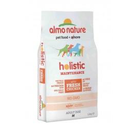 Almo Nature Chien Holistic Medium Poulet et riz 12 kg - La Compagnie Des Animaux