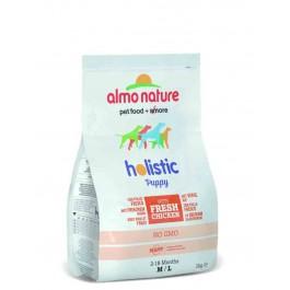 Almo Nature Chien Holistic Medium Puppy Poulet et riz 2 kg - La Compagnie Des Animaux