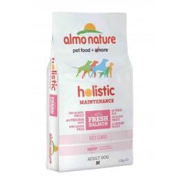 Almo Nature Chien Holistic Medium Saumon et riz 12 kg - La Compagnie Des Animaux