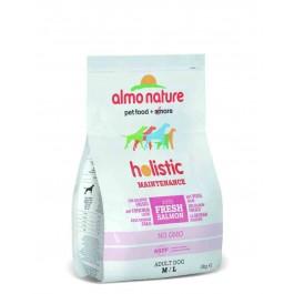 Almo Nature Chien Holistic Medium Saumon et riz 2 kg - La Compagnie Des Animaux