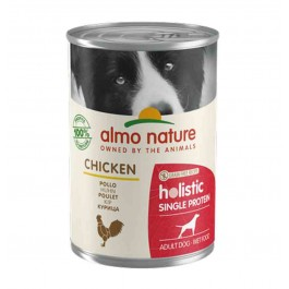 Almo Nature Chien Holistic Single Protein Digestion au poulet 24 x 400 g