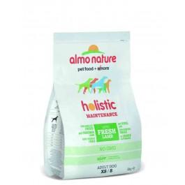 Almo Nature Chien Holistic Small Agneau et riz 2 kg - La Compagnie Des Animaux