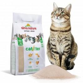 Almo Nature Catlitter Litière 100% naturelle Chat 4.54 kg - La Compagnie Des Animaux