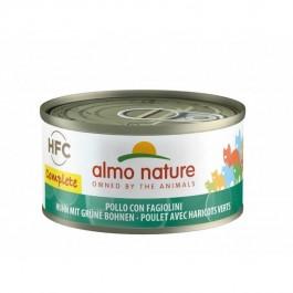 Almo Nature Chat Complete HFC Poulet Haricots Verts sans céréales 24 x 70 g - La Compagnie Des Animaux