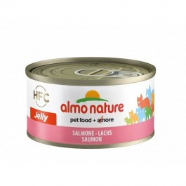 Almo Nature Chat Jelly HFC Saumon 24 x 70 grs - La Compagnie Des Animaux