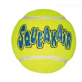 Kong Air Squeaker Tennis Ball Medium - La Compagnie Des Animaux