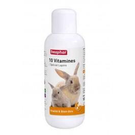 Beaphar 10 Vitamines pour lapin 100 ml - La Compagnie Des Animaux