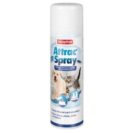 Beaphar « Attrac'Spray » Spray Educateur propreté pour Chien et Chat 250 ml - La Compagnie Des Animaux