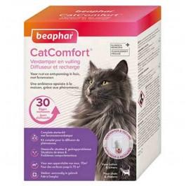 Beaphar CatComfort Diffuseur et recharge pour chats et chatons - La Compagnie Des Animaux
