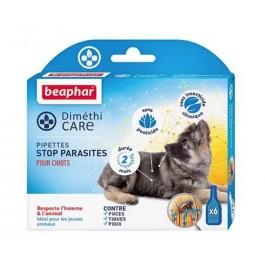 Beaphar Diméthicare Stop Parasites 6 pipettes pour chiots - La Compagnie Des Animaux